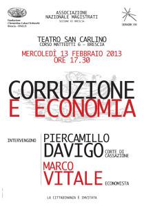 corruzione ed economia