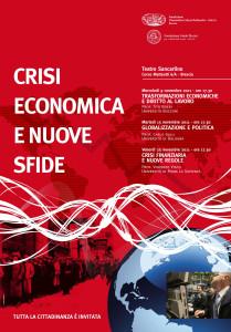 Crisi economica e nuove sfide