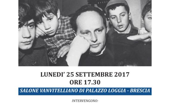 "Locandina ""Don Lorenzo Milani"""