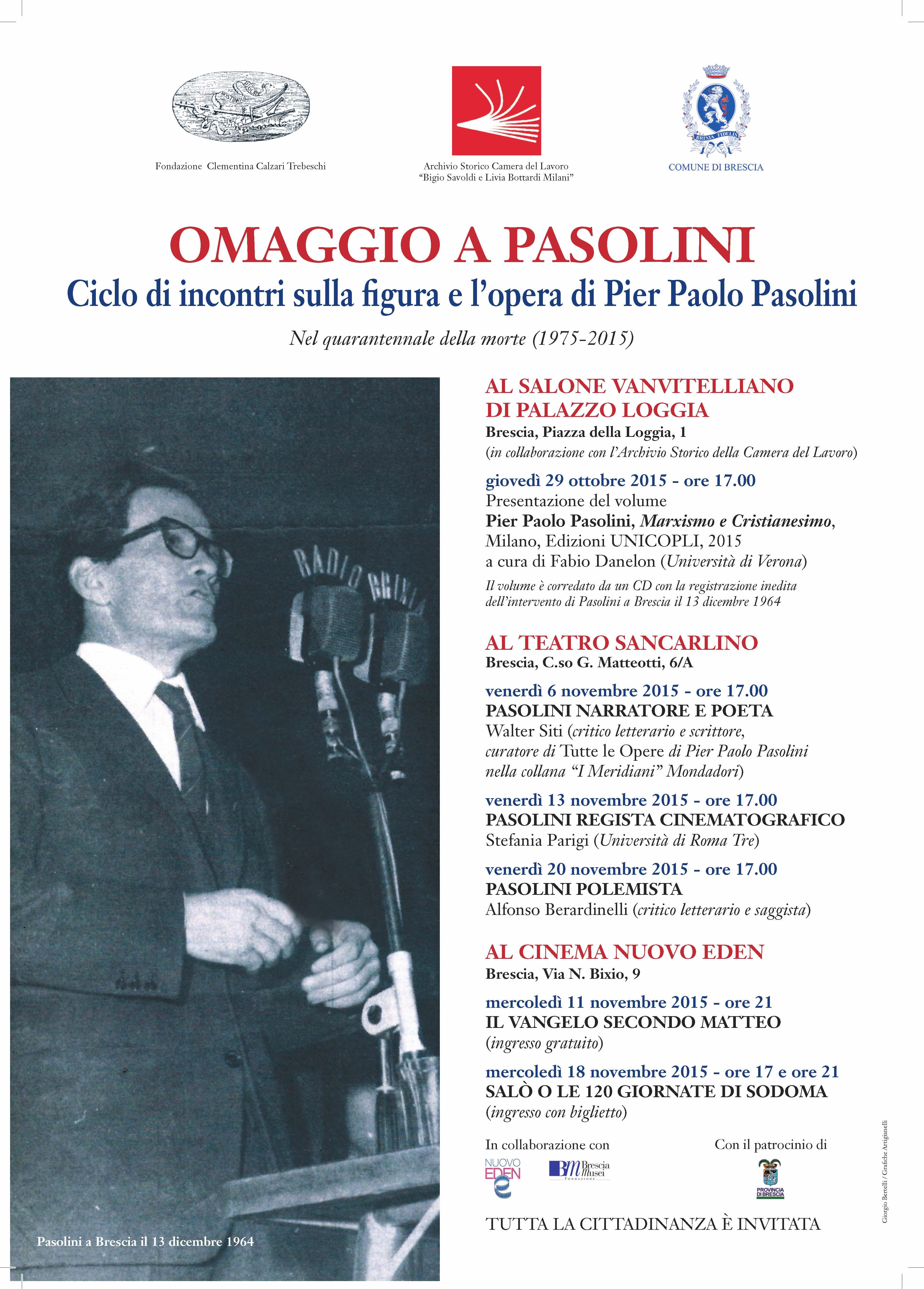 Omaggio a Pasolini